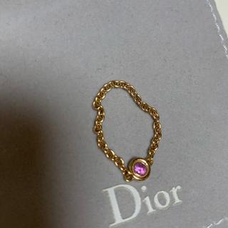 クリスチャンディオール(Christian Dior)のディオール  限定 ピンクサファイア マキシウィ(リング(指輪))