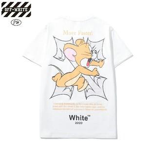 オフホワイト(OFF-WHITE)のOW6●激安!OFF-WHITE Tシャツ  男女兼用  白(Tシャツ(半袖/袖なし))