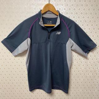 ルコックスポルティフ(le coq sportif)の❇️吸汗速乾❇️ニューバランス❇️メンズ❇️ハーフジップ半袖トレーニングウェア(Tシャツ/カットソー(半袖/袖なし))