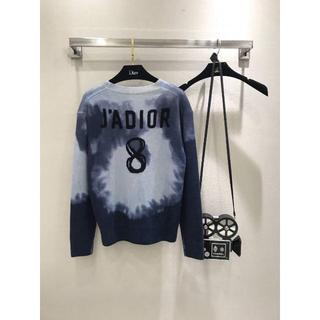 ディオール(Dior)のディオール   TIE & DIOR J'Adior 8ロゴ カシミアセーター(ニット/セーター)