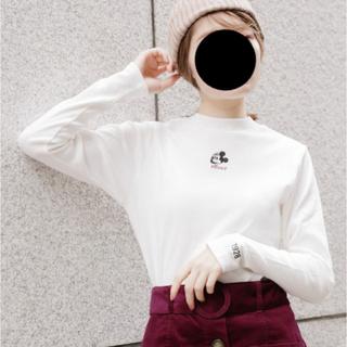 ヘザー(heather)のディズニーキャラクターハイネックT(Tシャツ(長袖/七分))