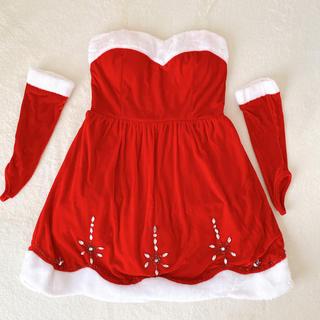 デイジーストア(dazzy store)のサンタコスプレ サンタコス クリスマス イベント(ナイトドレス)