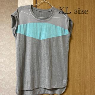 ロキシー(Roxy)のROXY  メッシュ素材切り替えビッグシャツ   XLsize(ヨガ)