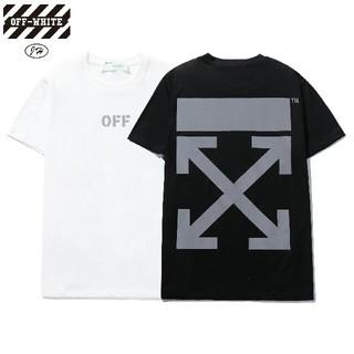 オフホワイト(OFF-WHITE)のOW10●激安!OFF-WHITE Tシャツ  男女兼用  黒/白セット(Tシャツ(半袖/袖なし))