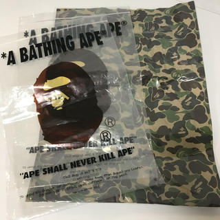 アベイシングエイプ(A BATHING APE)のA BATHING APE アベイシングエイプ ショッパー 袋 保存袋(その他)