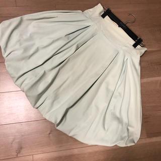 フォクシー(FOXEY)のフォクシーニューヨーク バルーンスカート サイズ40(ひざ丈スカート)