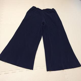 ユニクロ(UNIQLO)のユニクロ スカートパンツ ネイビー(その他)