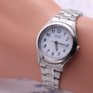 シチズン(CITIZEN)の正規品【動作品】CITIZEN Eco-Drive/ブルースティール エコ(腕時計)