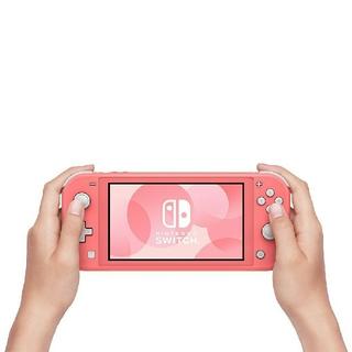 ニンテンドースイッチ(Nintendo Switch)の最安値‼️新品未開封 Switchライト コーラル(携帯用ゲーム機本体)