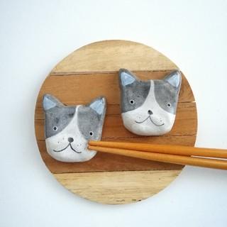 フレンチブルドッグ 箸置きセット(テーブル用品)