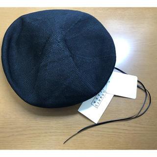 ローリーズファーム(LOWRYS FARM)の【奈緒様専用】サーモベレー 黒(ハンチング/ベレー帽)