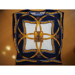 エルメス(Hermes)のレーヨントップス(Tシャツ(半袖/袖なし))
