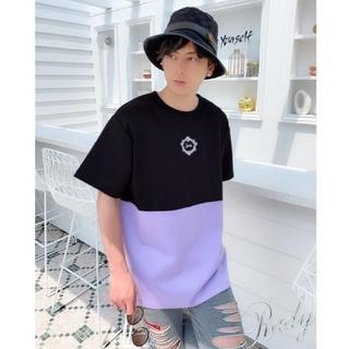 レディー(Rady)のRady新品♡今季新作メンズバイカラーフレームTシャツ♡ (Tシャツ/カットソー(半袖/袖なし))
