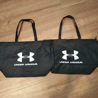 アンダーアーマー(UNDER ARMOUR)のアンダーアーマー ショップ袋 手提げ袋 2枚セット(ショップ袋)