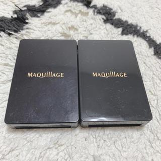 マキアージュ(MAQuillAGE)のマキアージュ スポンジ 新品 二つセット (パフ・スポンジ)