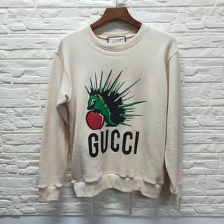 グッチ(Gucci)の【GUCCI】マスク オーバーサイズ スウェットシャツ(トレーナー/スウェット)