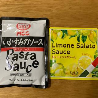 カルディ(KALDI)のMCC いかすみパスタソース KALDI 塩レモンパスタソース(麺類)