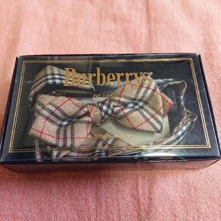 バーバリー(BURBERRY)の【美品】BURBERRY バーバリー キッズ 蝶ネクタイ(ドレス/フォーマル)
