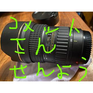 ケンコー(Kenko)の美品 トキナー  16-28 ATX-pro F2.8 FX  広角 キャノン(レンズ(ズーム))