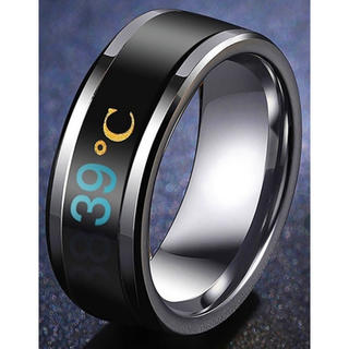 インテリジェント温度感応 Smart Ring(ブラック)(リング(指輪))