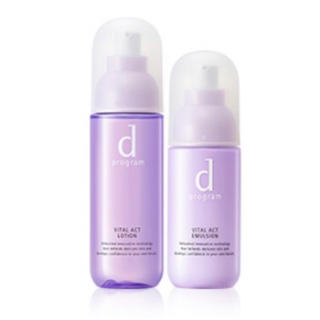 ディープログラム(d program)のdプログラム バイタルアクト(セット)化粧水・乳液(化粧水/ローション)