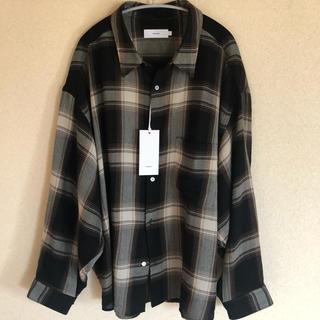 コモリ(COMOLI)のGRAPHPAPER 19aw チェック ウールシャツ(シャツ)