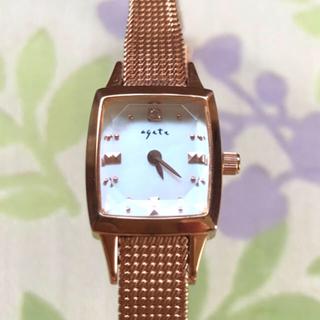 アガット(agete)のagete   ⑱    腕時計・稼動品✨(腕時計)