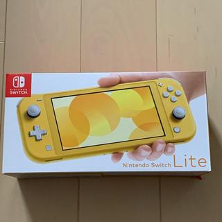 ●新品未開封 Nintendo Switch Lite イエロー 保証有り(携帯用ゲーム機本体)