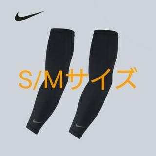 ナイキ(NIKE)のNIKE 新品 S-M ナイキ ライトウェイト ランニングスリーブ 黒ブラック(その他)