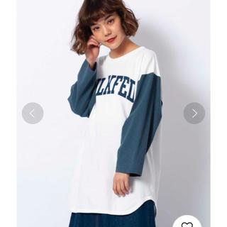 ミルクフェド(MILKFED.)のMILKFED.  FOOTBALL TEE(Tシャツ(長袖/七分))