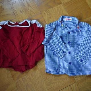 バーバリー(BURBERRY)の80サイズ バーバリー&ミキハウス 長袖セット(Tシャツ)