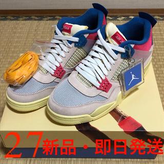 UNION × NIKE AIR JORDAN 4 RETRO SP GUAVA(スニーカー)
