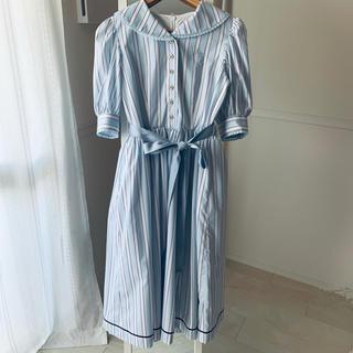 ヴィクトリアンメイデン(Victorian maiden)のストライプマリンドレス(ロングワンピース/マキシワンピース)