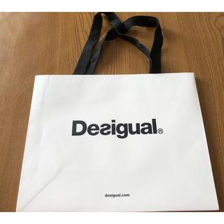 デシグアル(DESIGUAL)のデシグアルのショップ袋(未使用品)イエロー(ショップ袋)