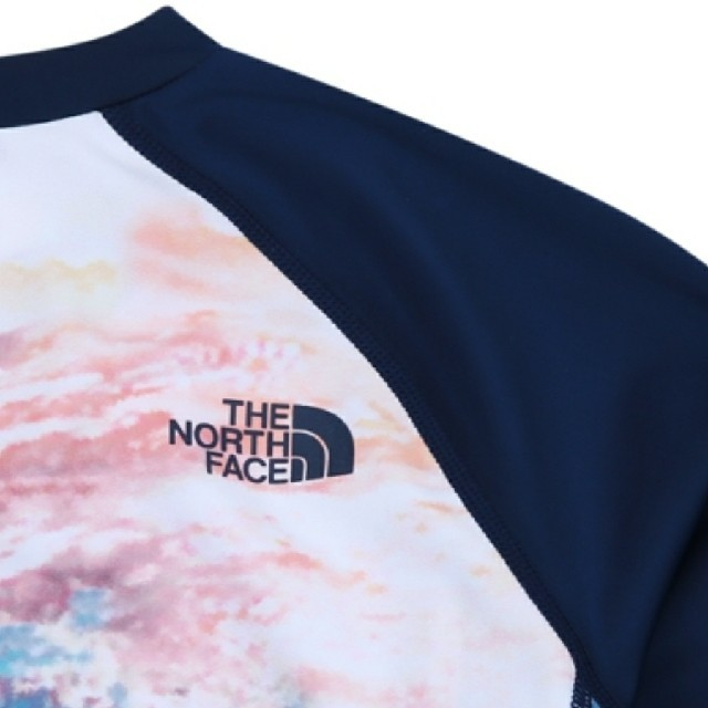 THE NORTH FACE(ザノースフェイス)のTHE NORTH FACE ノースフェイス ラッシュガード 水着 スポーツ M レディースの水着/浴衣(水着)の商品写真