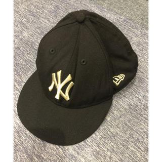 ニューエラー(NEW ERA)のニューエラ キャップ NY ブラック ゴールド(帽子)