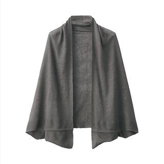 ムジルシリョウヒン(MUJI (無印良品))の新品 無印良品  UVカット フレンチリネンボレロ  135×35cm(ボレロ)