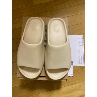 アディダス(adidas)の新品 再出品 adidas yeezy slide Bone 27.5(サンダル)