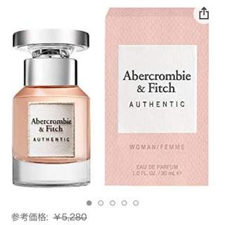 アバクロンビーアンドフィッチ(Abercrombie&Fitch)のアバクロ オーセンティック フォーハー オードパルファム(香水(女性用))