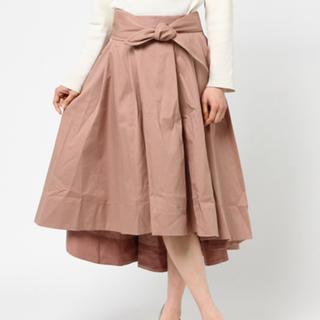 ミスティウーマン(mysty woman)のリボンスカート(ロングスカート)
