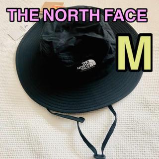 THE NORTH FACE - ノースフェイス◆登山・キャンプ・運動会◆ホライズンハット・帽子◆ブラック・M