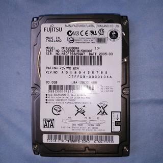 富士通 - HDD 2.5インチ SATA 80GB 富士通