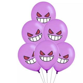 ポケモン(ポケモン)のゲンガー 6つセット☆ ポケモン バルーン 風船 飾り付け 誕生日(その他)