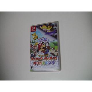 ニンテンドースイッチ(Nintendo Switch)のペーパーマリオ オリガミキング SWITCH  美品(家庭用ゲームソフト)