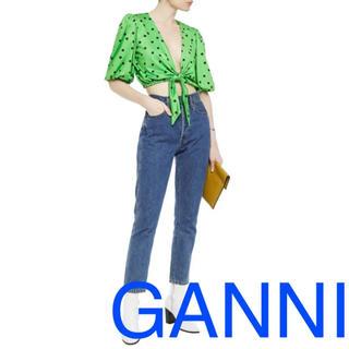 バーニーズニューヨーク(BARNEYS NEW YORK)のganni ガニー byfar Cecilie Bahnsen ROTATE(シャツ/ブラウス(半袖/袖なし))