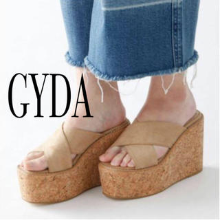 ジェイダ(GYDA)のGYDA クロスコルクサンダル S(サンダル)