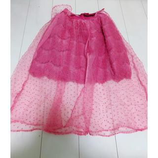 リズリサ(LIZ LISA)のチュールスカート^_^(ロングスカート)