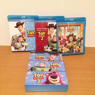 トイストーリー(トイ・ストーリー)の美品 ディズニー トイ・ストーリー ブルーレイ トリロジーセット Blu-ray(アニメ)