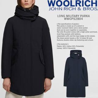 ウールリッチ(WOOLRICH)のウールリッチ ダウンコート woolrichロングミリタリーパーカー(ダウンコート)
