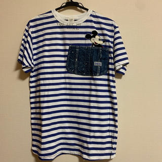 デニムダンガリー(DENIM DUNGAREE)のデニム&ダンガリー☆新品 ミッキーTシャツ 04(Tシャツ/カットソー)